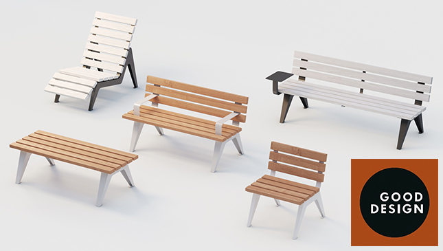 ARIA WOOD | benches | 2021